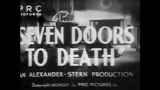 SEVEN DOORS TO DEATH 1944 Chick Chandler