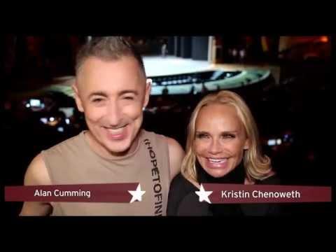 2015 Tony Award Hosts Kristin Chenoweth & Alan Cumming on Hot Dancers, Sexy Drinking Games & More