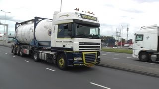 trucks, trucks, trucks, Waalhaven Rotterdam, 15 8 2013, part 1 of 4