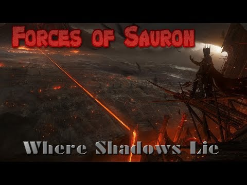 Forces of Sauron - Where Shadows Lie - Music Video