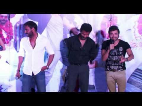 Ajay Devgn , Prabhu Deva , Sonakshi Sinha , Himmesh Reshammiya launch Keeda Song : Action Jackson
