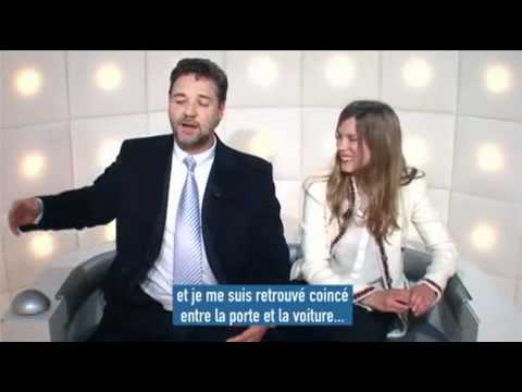 Russell Crowe    and questions