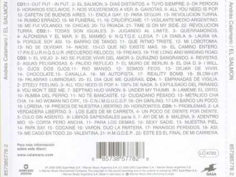 Andres Calamaro - Este Es El Final De Mi Carrera