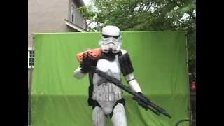 How to put on SandTrooper (Stormtrooper) Armor  Johnny Rox (TD-2298 501st Legion)