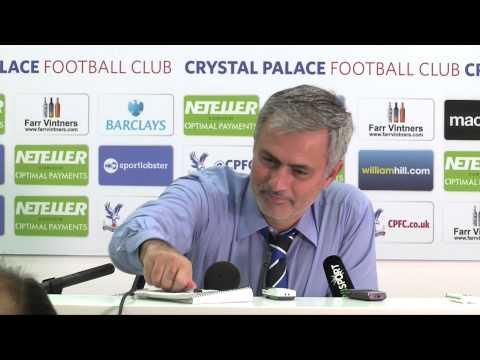 Dicke Eier! – Jose Mourinhos Lacher-PK | Crystal Palace -...