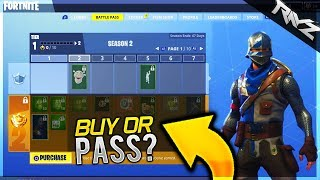 Should You Buy A Fortnite Battle Pass? Here Is EVERYTHING You Get! (Fortnite Battle Royale)