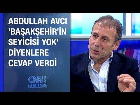 Abdullah Avcı 'Başakşehir'in seyircisi yok' diyenlere cevap verdi
