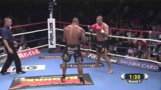 Alistair Overeem vs Gokhan Saki (K-1 World GP 2010)