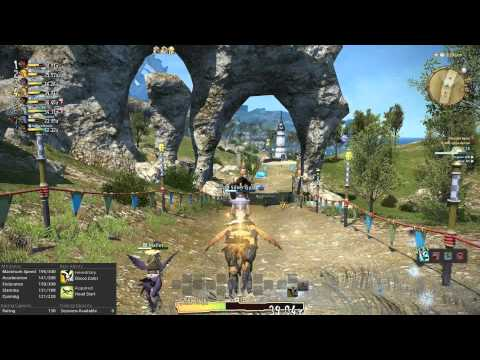 FFXIV Chocobo Racing: All R-160 courses