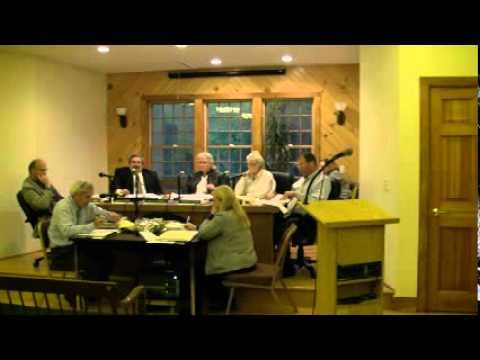 HOPKINTON TOWN COUNCIL MEETING -- May 21, 2012
