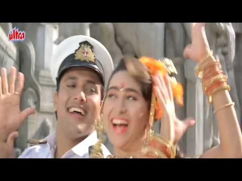 Yaad Sataye Teri Neend Churaye Meri - Govinda, Karishma, Raja Babu Song video