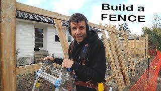 How to Build a Fence (Like a Carpenter)