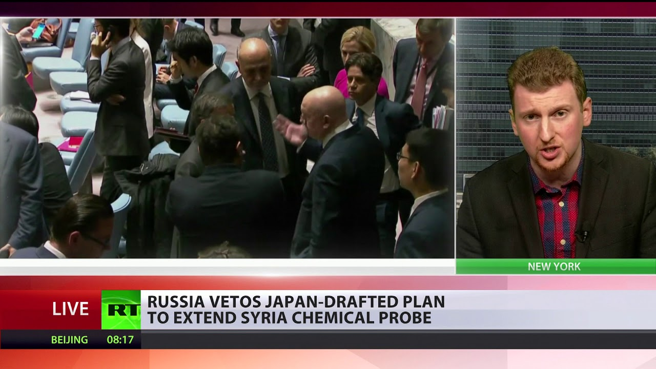 Chemical stalemate: Russia vetoes Japan-drafted plan to extend Syria chemical probe