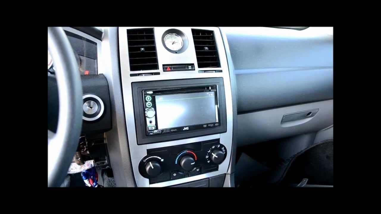 2005 2009 Chrysler 300 2 Din Radio Upgrade And Brushed