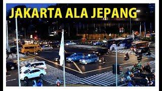 Asyiknya, Zebra Cross ala Jepang Ada di Jakarta