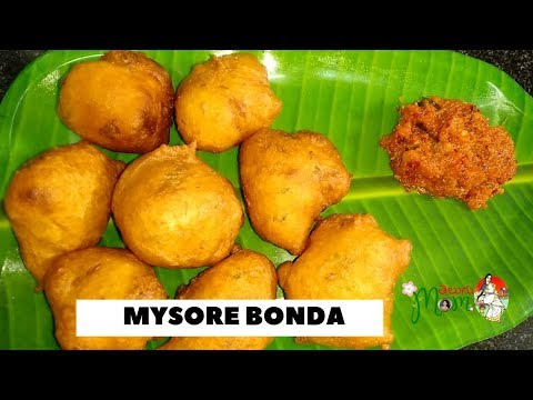 Mysore Bonda Recipe || Very Simple Mysore Bajji Recipe at Home || Telugu Mom
