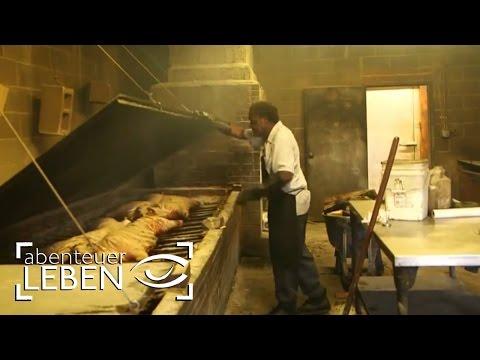 Barbecue in den USA: In North Carolina werden ganze Schweine gegrillt   Abenteuer Leben