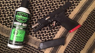How to put Green Gas or Propane into an airsoft GBB pistol