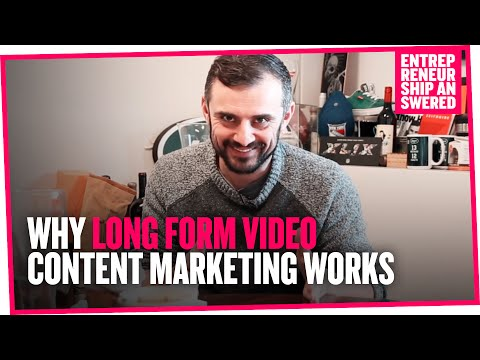 Why Long Form Video Content Marketing Works