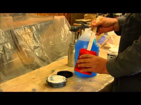 spraying latex paint with a hvlp paint gun how to save money and do. Black Bedroom Furniture Sets. Home Design Ideas