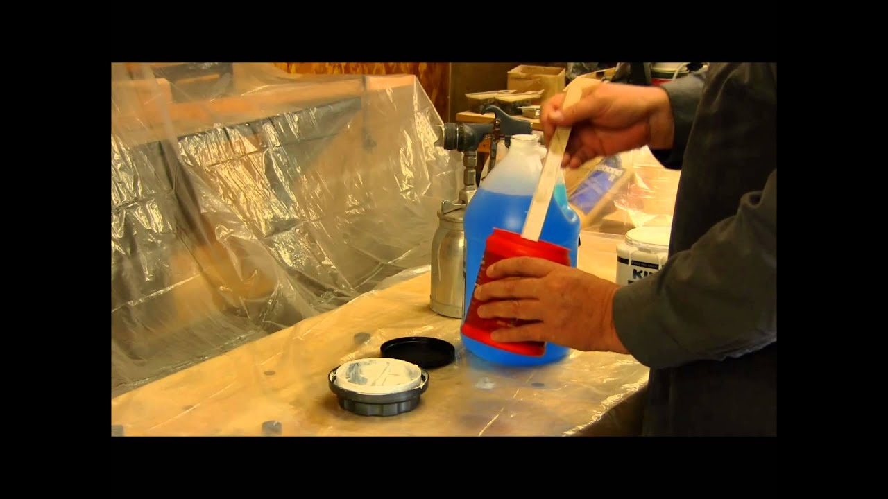 spraying latex paint with a hvlp paint gun youtube. Black Bedroom Furniture Sets. Home Design Ideas