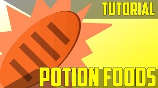 How to Give Food Custom Potion Effects - Minecraft Command Block Tutorial [1.11][1.10][1.9]