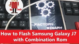 download lagu How To Flash Samsung Galaxy J7  Combination Rom gratis