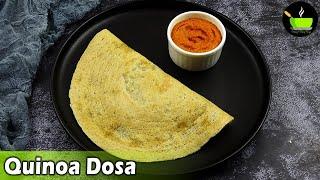 Healthy High Protein Breakfast Recipe | Quinoa Dosa | Low Carb Recipe| Dosa Recipe| Breakfast Recipe