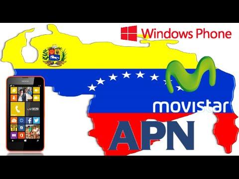 Instalar las APN de Movistar windows phone (VENEZUELA)