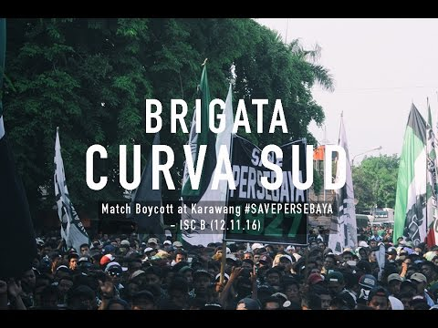 Match Boycott at Karawang #SAVEPERSEBAYA - ISC B (12.11.16)