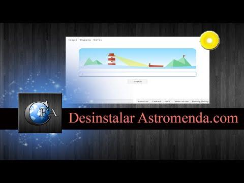 Desinstalar Astromenda.com