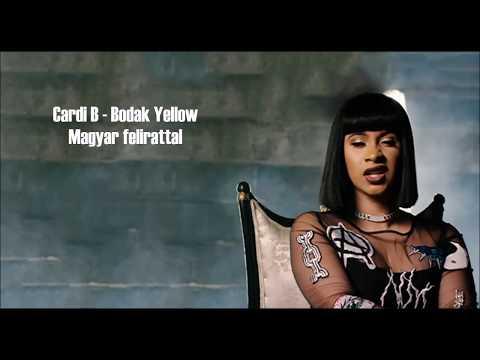 Cardi B - Bodak Yellow   Magyar felirattal   Hungarian subtitles