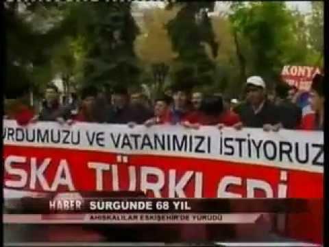 Ahiska Turkleri  ''Evimizi,Yurdumuzu,Vatanımızı, İstiyoruz''