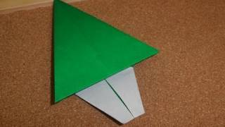 Daily Origami:  153 - Christmas - Tree 01