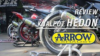 Review Knalpot HEDON! Arrow Exhaust
