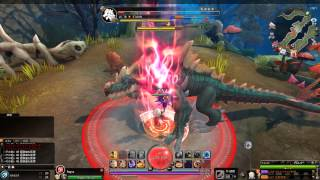 Dragomon Hunter - Mage Level 18 Darkslate Reptilion Dungeon Gameplay