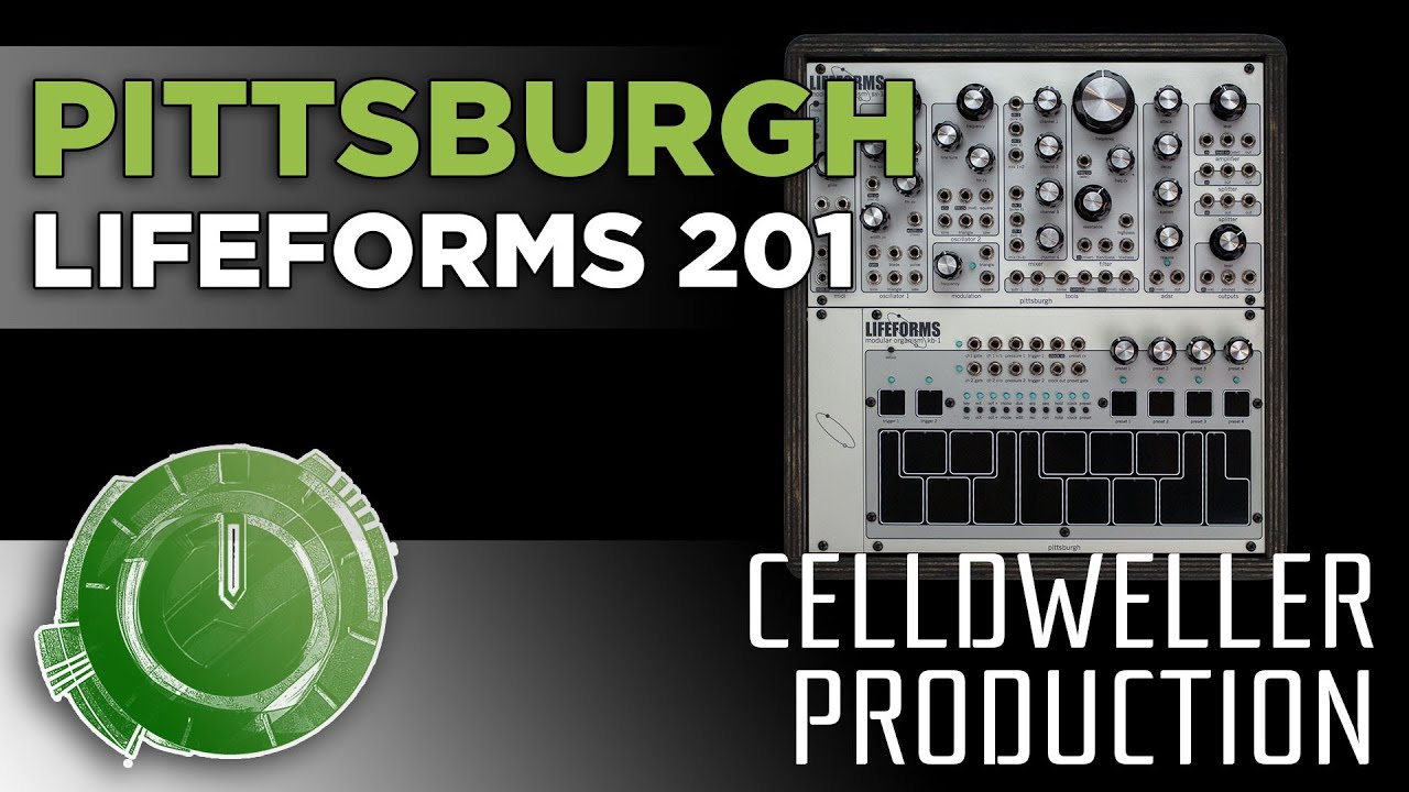 Celldweller Production - Pittsburgh Modular Lifeforms 201