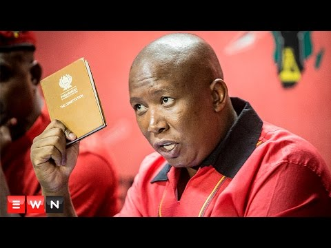 "Malema calls for Zuma resignation: ""It's not about feelings, it's about the constitution"""