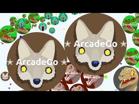 Agar.io Let's Team T.Rex Destroying Teams On Mobile! (Agario Best Moments)