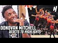 Donovan Mitchell Reacts to Donovan Mitchell Highlights