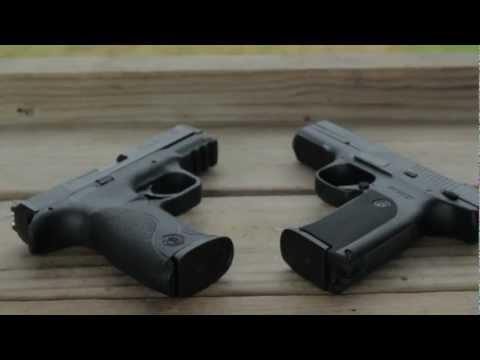 MRCOLIONNOIR's  RUGER SR9 vs M&P Shooting Review