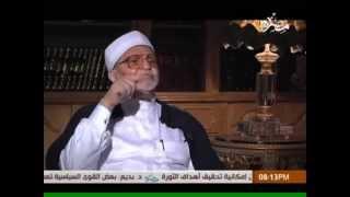 الشيخ الراوى يفضح على جمعه بعد ما قال للسيسى الرسول معاك وبيأيدك