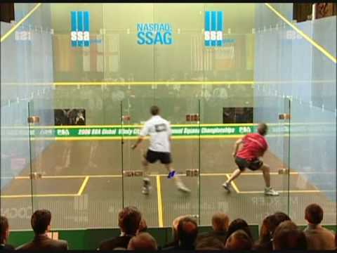 Squash - David Palmer vs Jonathon Power Windy City Open 2006