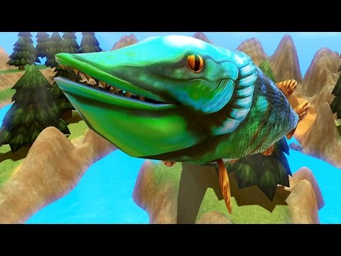 FLYING PIKE - LEVEL 195! - Feed and Grow Fish - Part 4 | Pungence