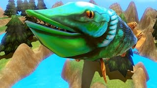 Download Lagu FLYING PIKE - LEVEL 195! - Feed and Grow Fish - Part 4 | Pungence Gratis STAFABAND