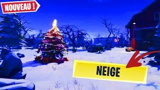 [TUTO] AVOIR DE LA NEIGE SUR FORTNITE BATTLE ROYALE !!!
