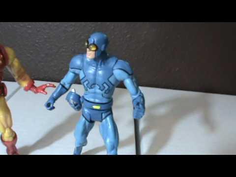 Beetle Iron Man Blue Beetle vs Iron Man
