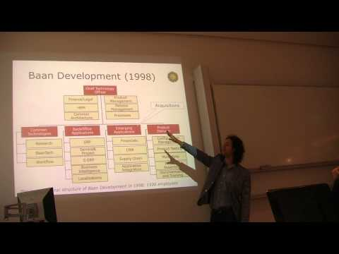 Slinger Jansen talks about the Structuring of a Software Company