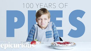 Kids Try 100 Years of Pies | Bon Appetit