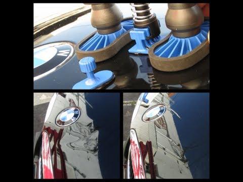 Hood Dent Repair w/ Keco Glue Pull